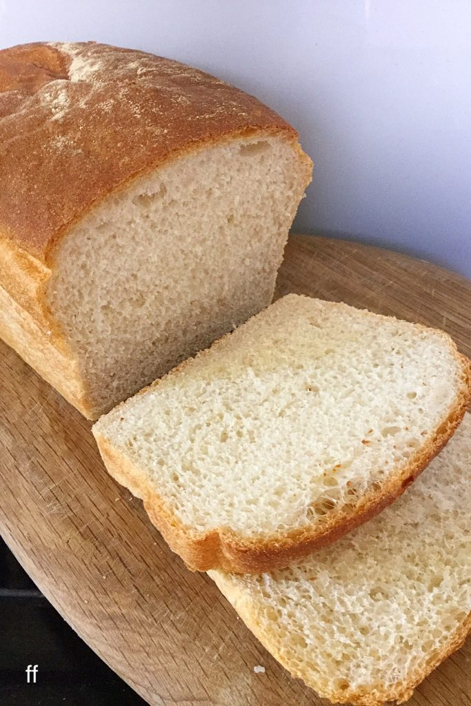 White Sandwich Bread sliced