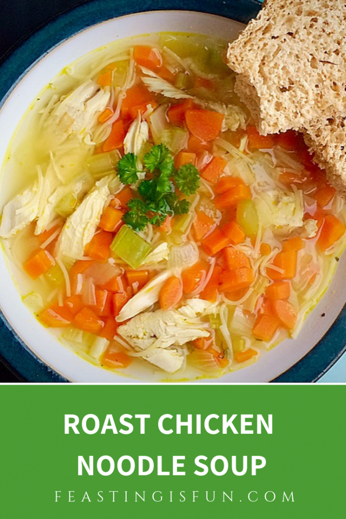 FF Roast Chicken Noodle Soup