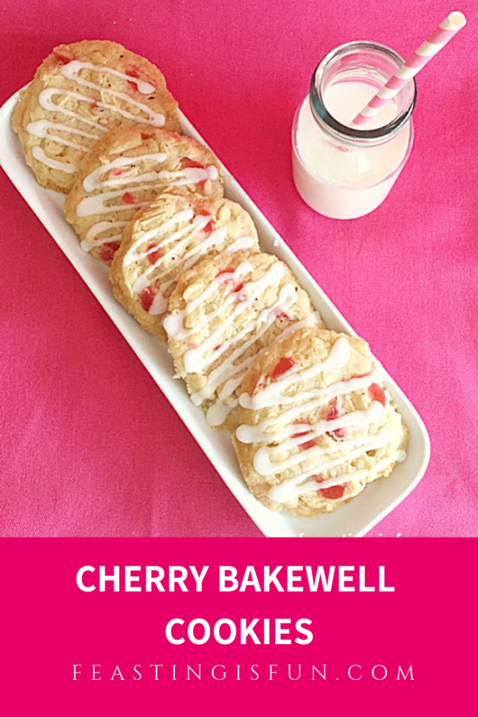 FF Cherry Bakewell Cookies
