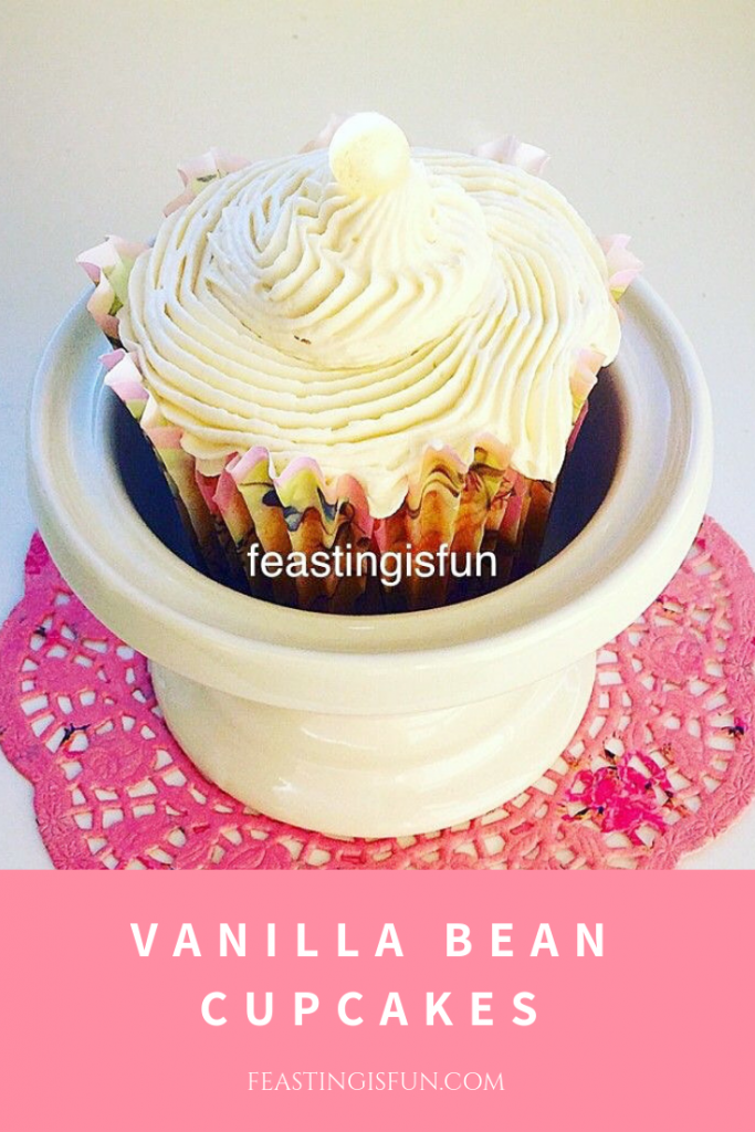 FF Vanilla Bean Cupcakes