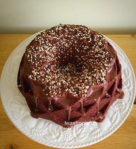 Flurries Chocolate Fudge Bundt Cake
