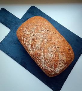 Wholemeal Loaf - how do you like your bread? www.feastingisfun.com