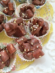 Rocky Road Petit Fours oh go on, just one!!! www.feastingisfun.com