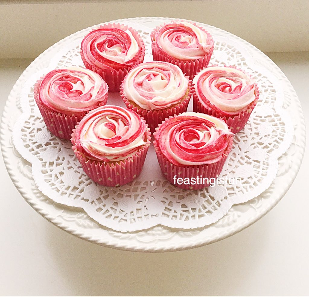 Naturally Flavoured Frosted Cupcakes