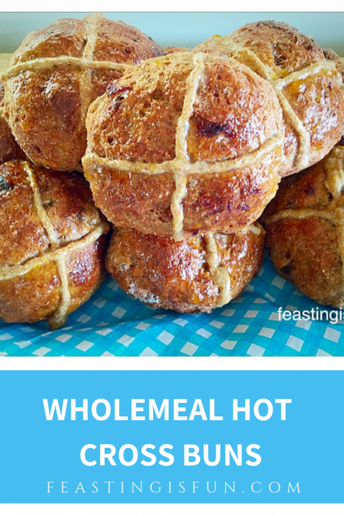 FF Wholemeal Hot Cross Buns