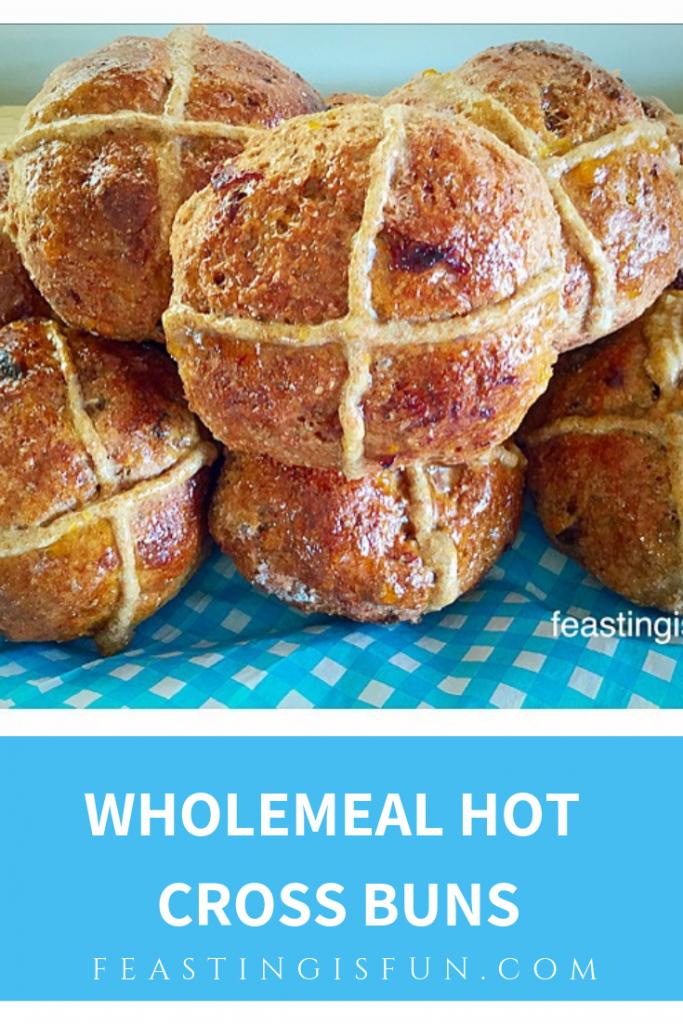 FF Wholemeal Hot Cross Buns