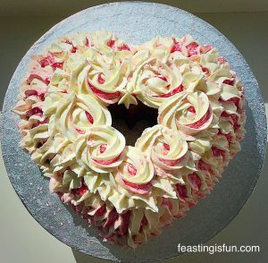 FF Strawberry Sweetheart Cake