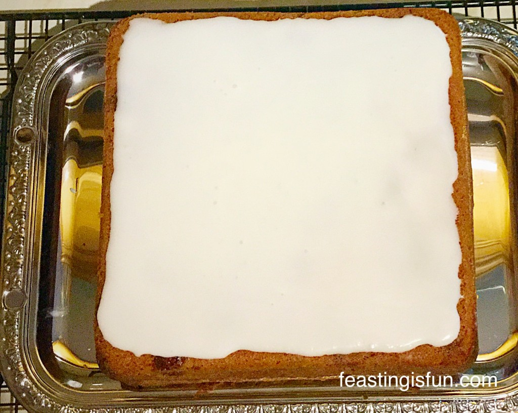 Cherry Almond Sandwich Cake