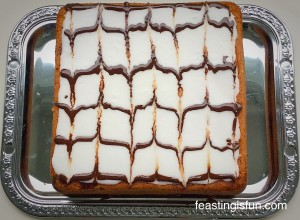 FF Cherry Almon Sandwich Cake