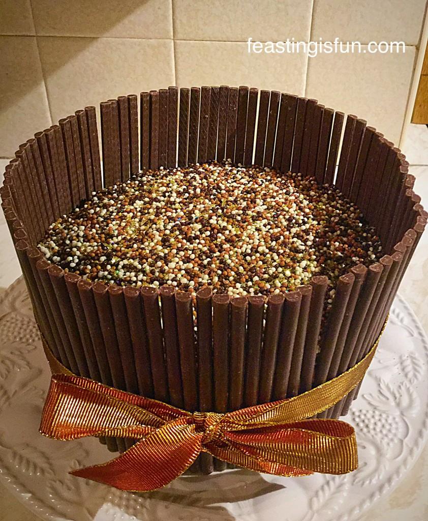Elizabeth Shaw Chocolate Amaretto Cake