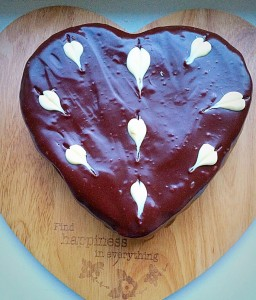 Chocolate Heart Cake link