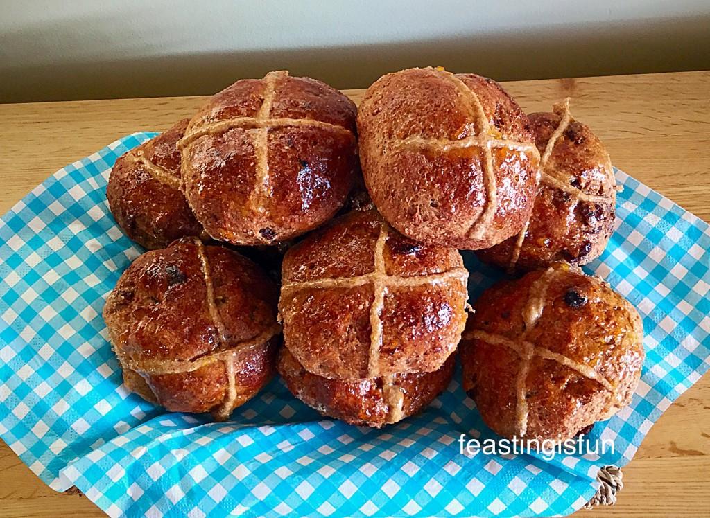 Wholemeal Hot Cross Buns