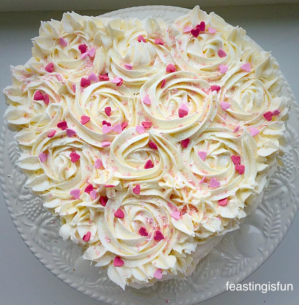 Strawberry Sweetheart Cake.