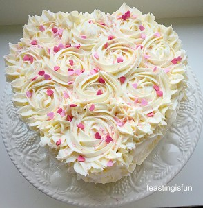 Strawberry Sweetheart Cake
