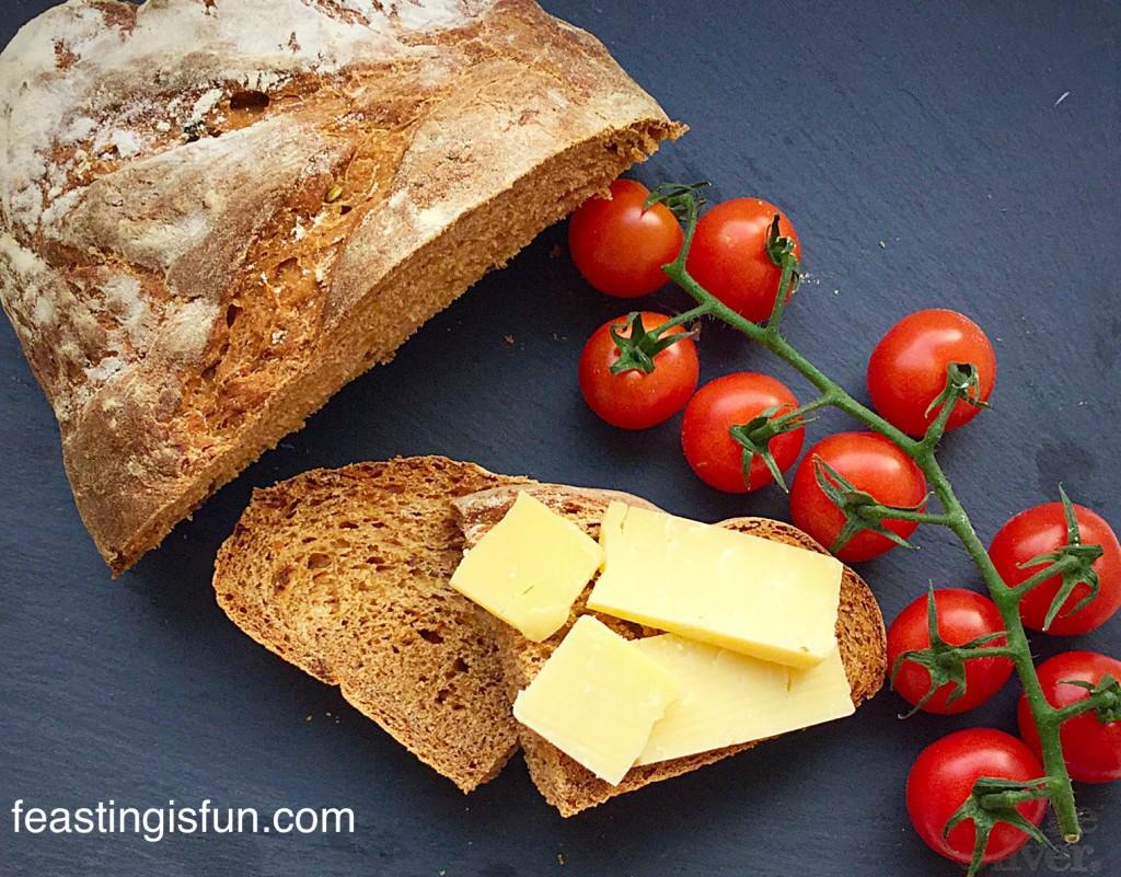 Flavourful Sundried Tomato Bread