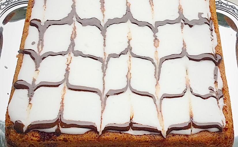 Bakewell Cherry Almond Sandwich Cake