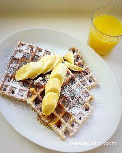 FF Vanilla Bean Waffles