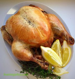 FF Lemon Thyme Roast Chicken