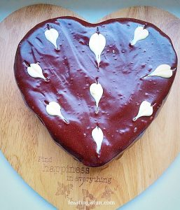 FF Heart Engagement Bundt Cake