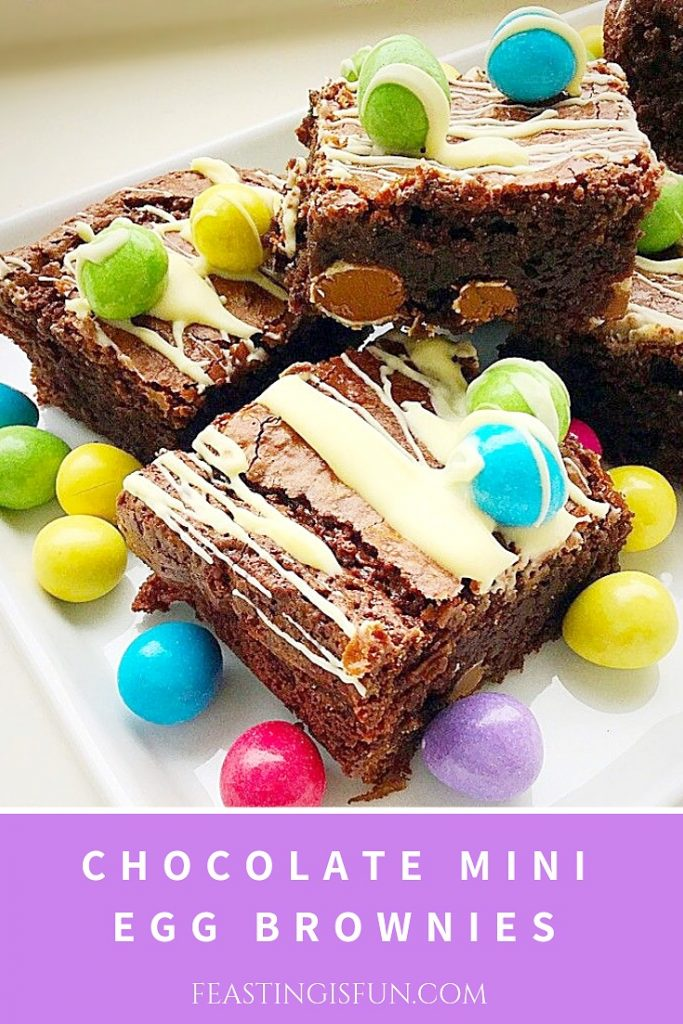 Chocolate Mini Egg Brownies