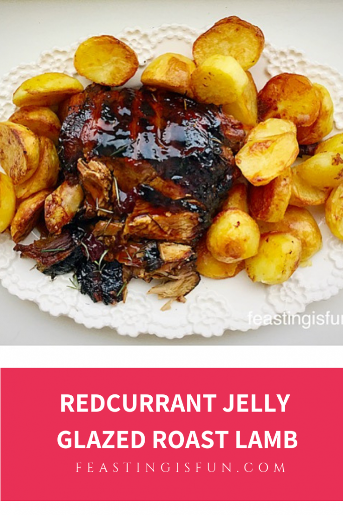 FF Redcurrant Jelly Glazed Roast Lamb