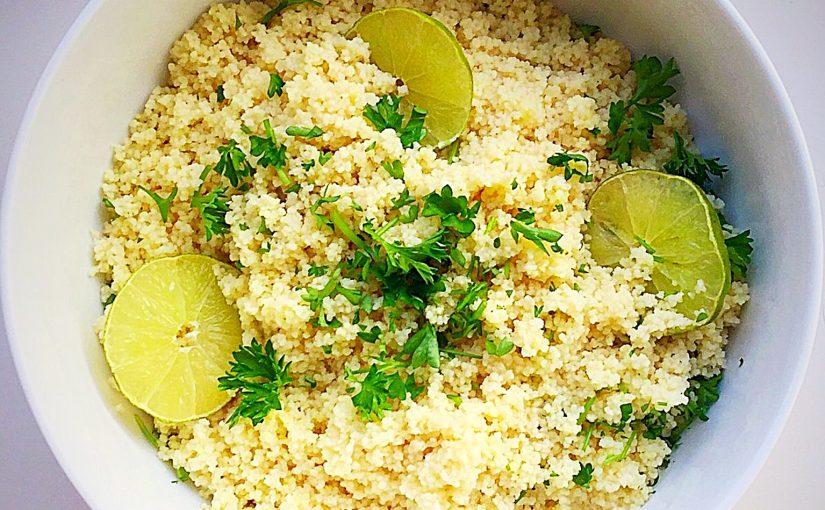 Lime Couscous