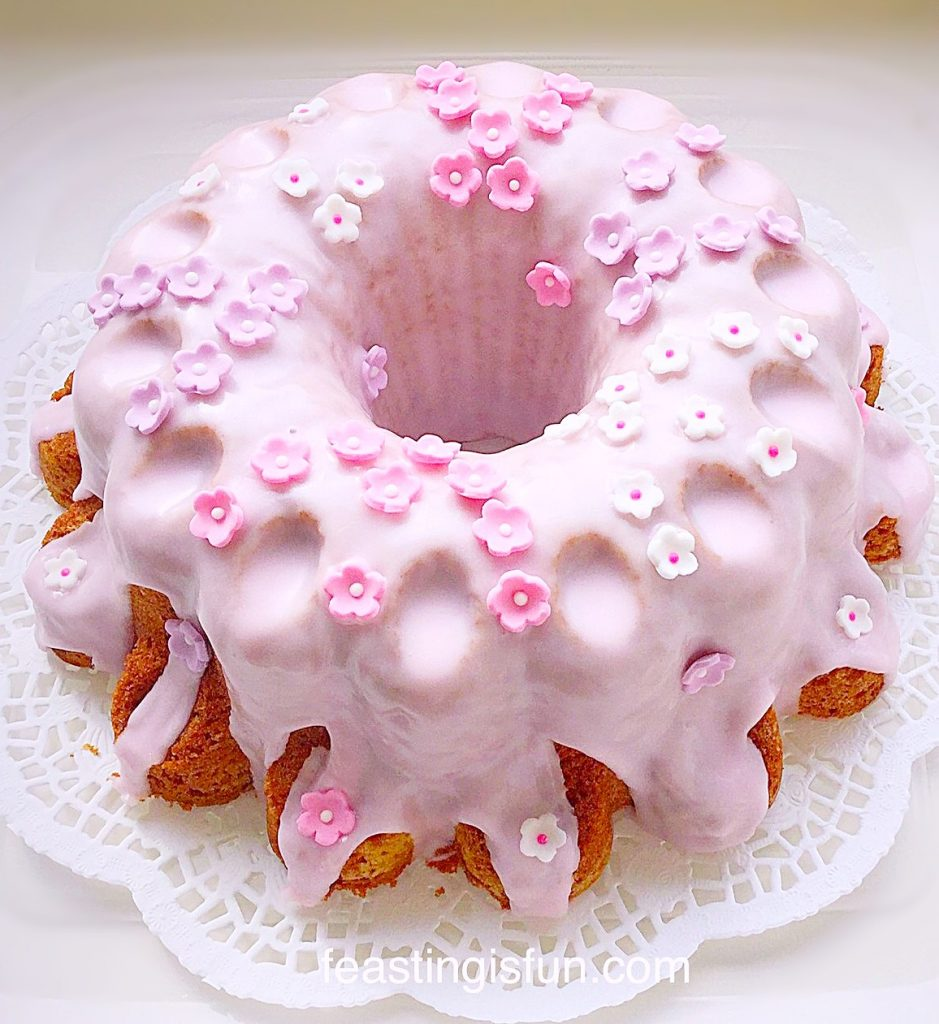 Flower Vanilla Bundt Cake
