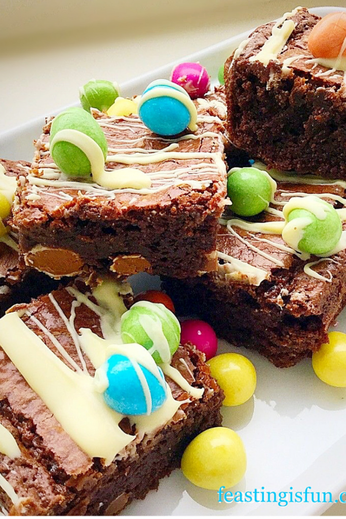 FF Chocolate Mini Egg Brownies