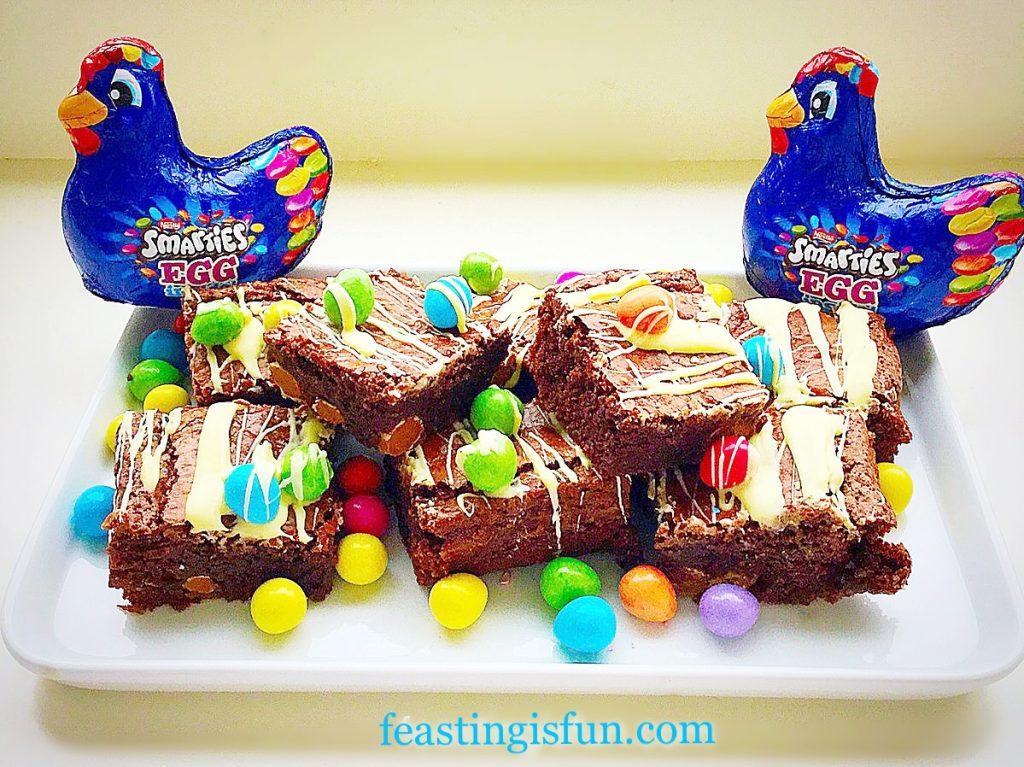 FF Chocolate Mini Egg Brownies