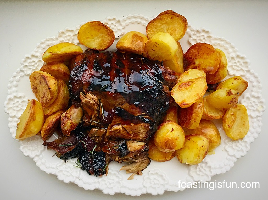 GF Redcurrant Jelly Glazed Roast Lamb