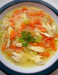 GF Roast Chicken Noodle Soup