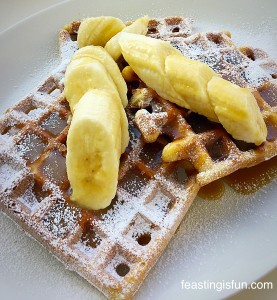 FF Toffee Banoffee Waffles