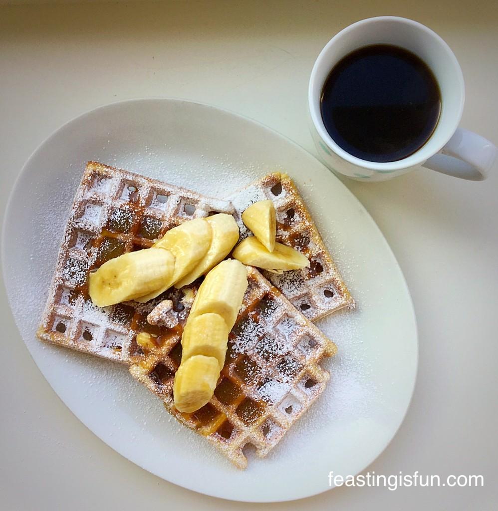 W Toffee Banoffee Waffles