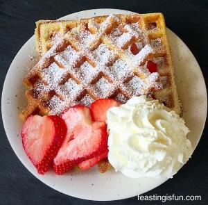 W Vanilla Bean Waffles