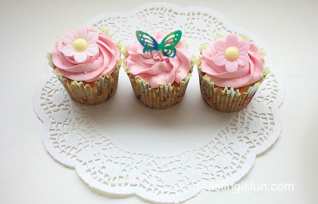 NM Springtime Vanilla Cupcakes
