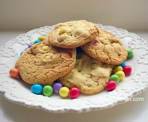 FF Chocolate Monster Mini Egg Cookies