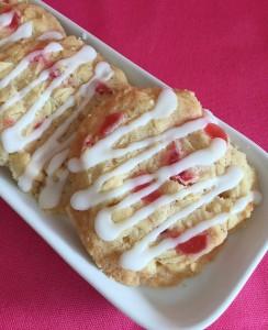 Smartie Cherry Bakewell Cookies