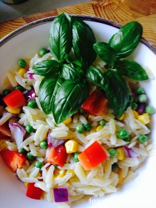 MD Lemon Garlic Vegetable Orzo
