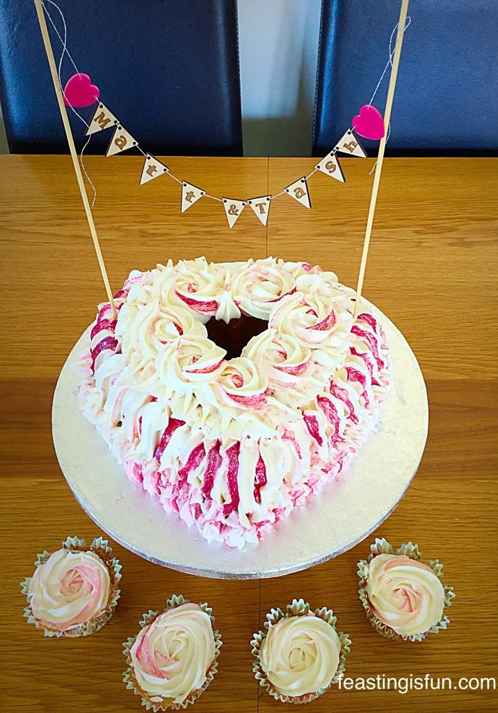 MT Heart Engagement Bundt Cake