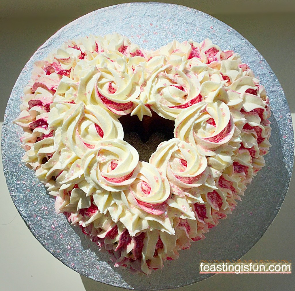 MT Heart Engagement Bundt Cake