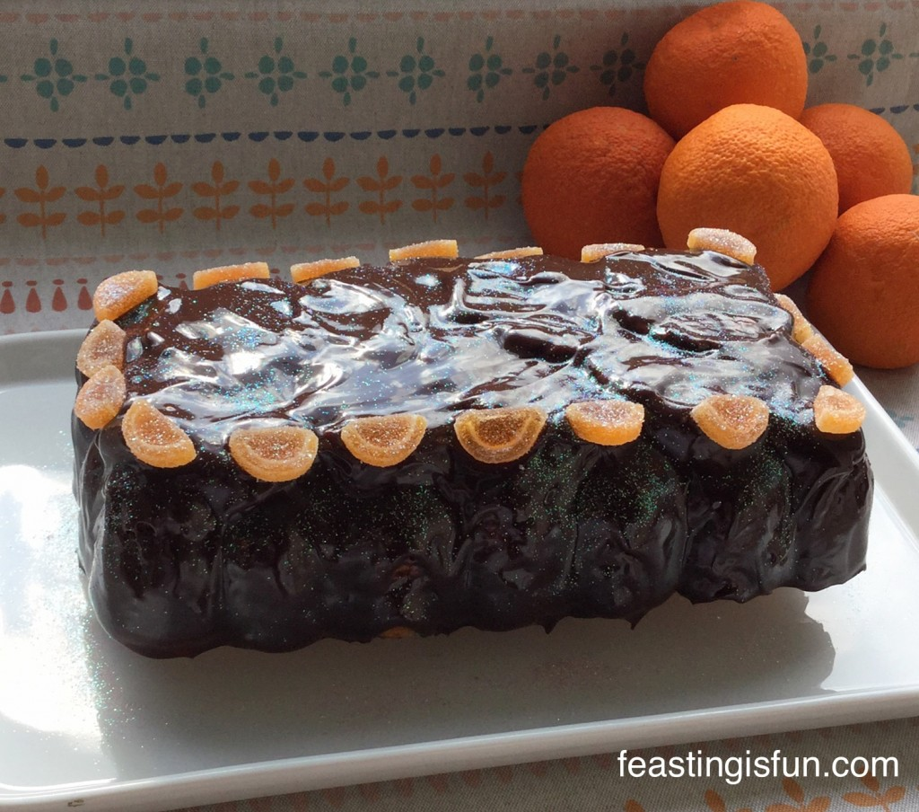 W Chocolate Orange Citrus Bundt
