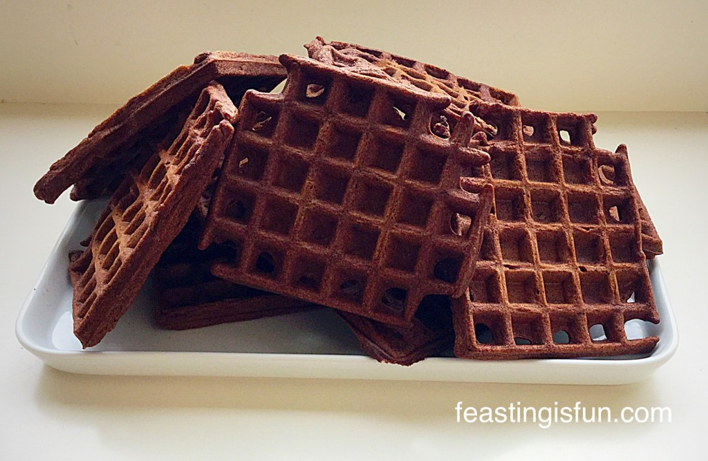 Fairtrade Chocolate Dunking Waffles