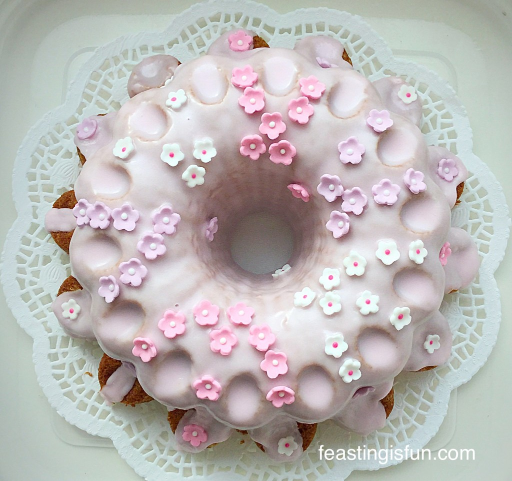 Florrie's Flower Vanilla Bundt Cake