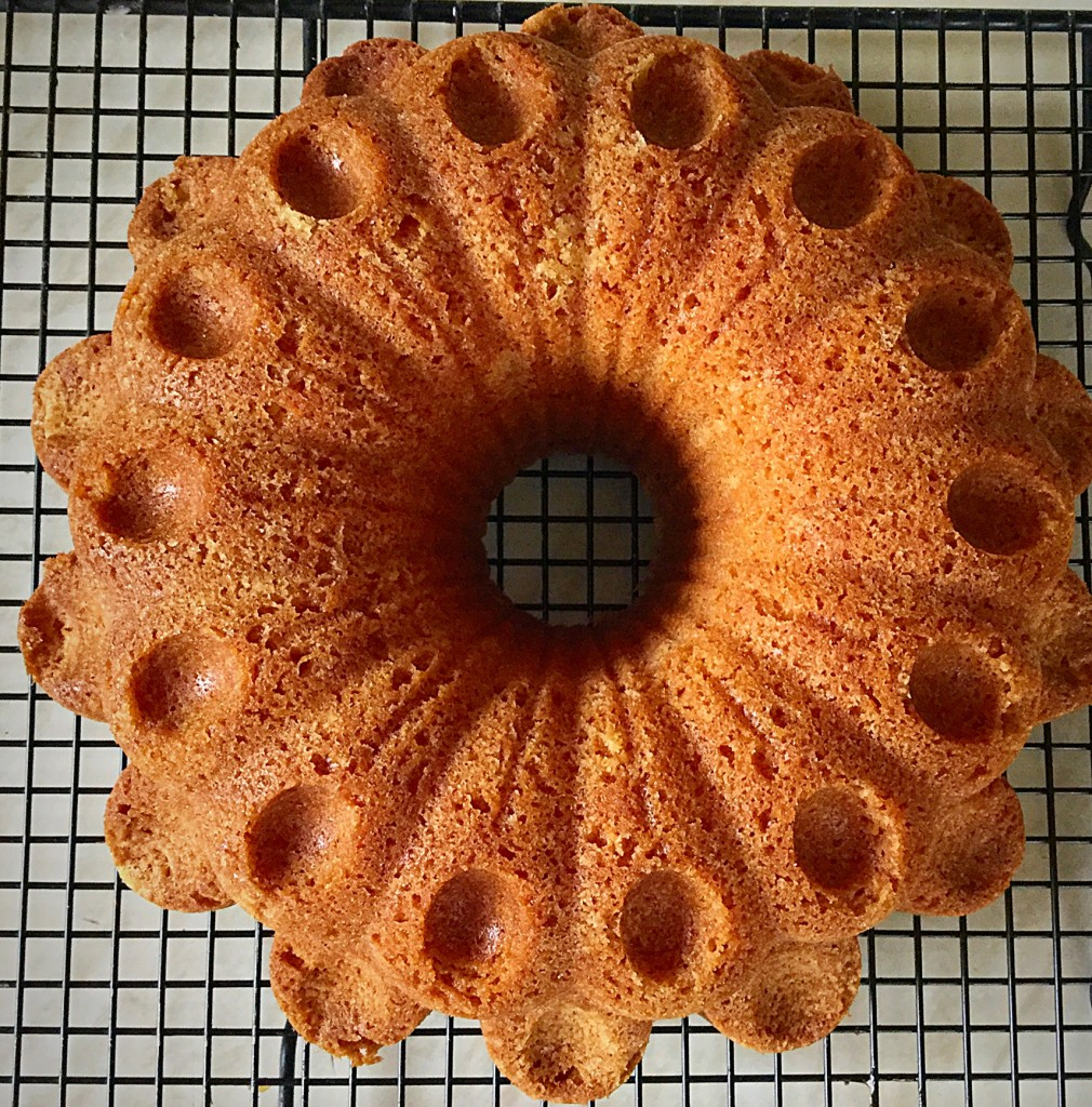 Florries Flower Vanilla Bundt Cake