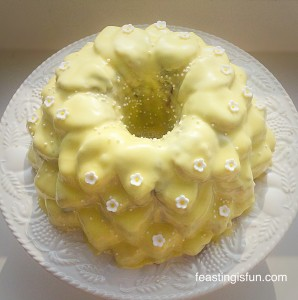 Lemon Blueberry Bundt Cake NW