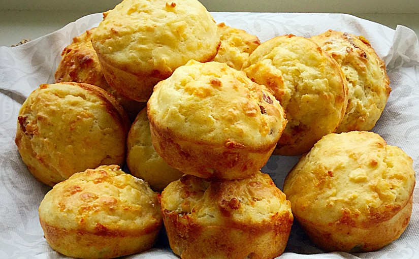 Cheese Bacon Breakfast Muffins