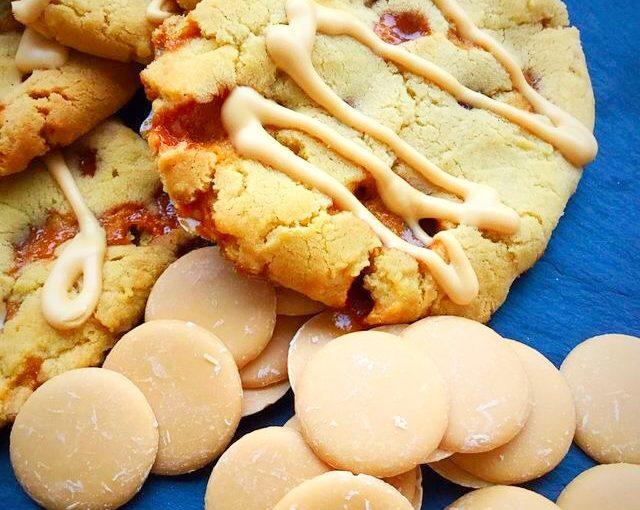 Caramac Caramel Cookies