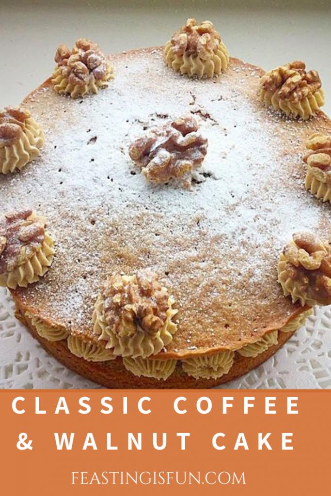 FF Classic Coffee Walnut Cake