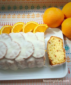 FF Glazed Orange Bundt Cake