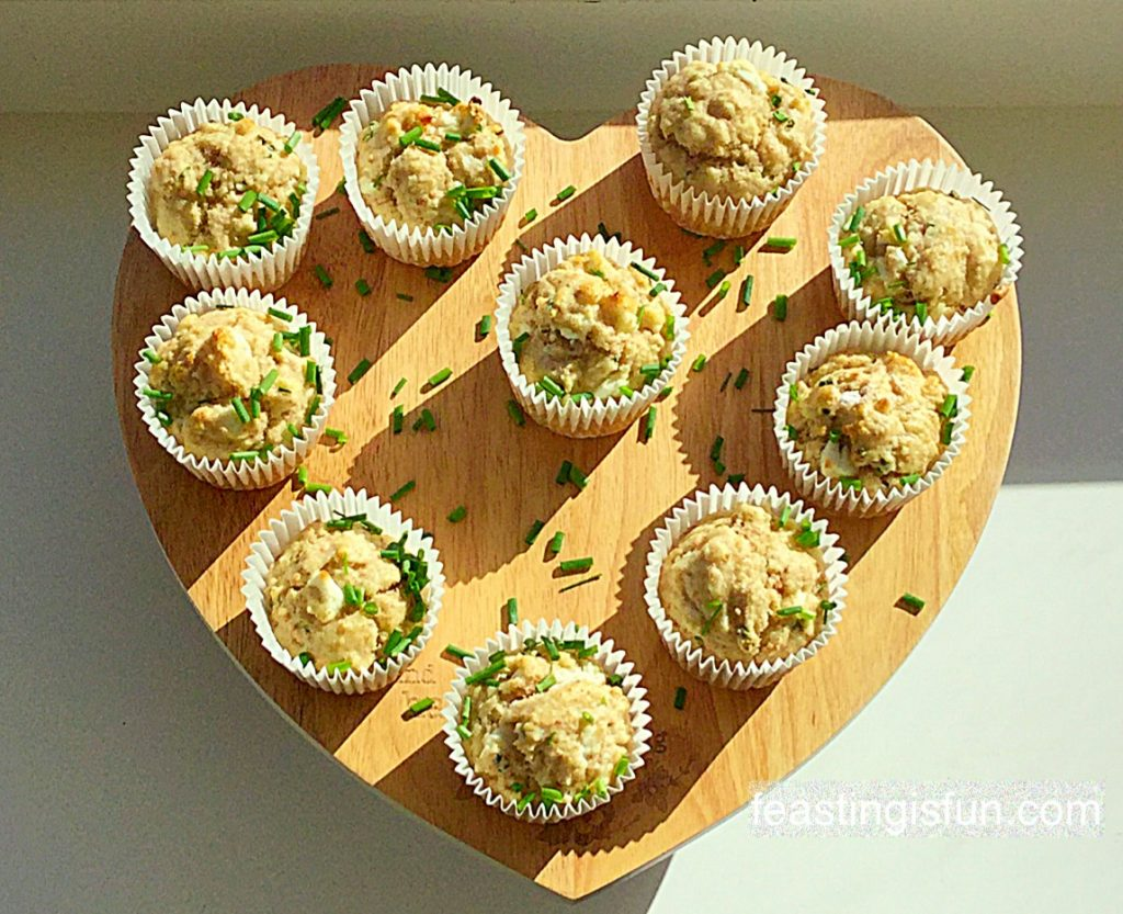 FF Feta Cheese Herb Muffins